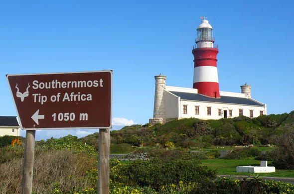 Cape Agulhas Lighthouse.