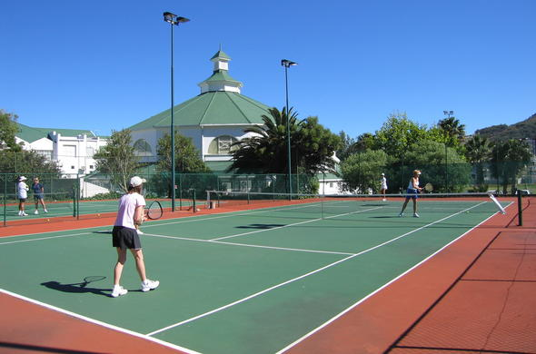 The Bay Hotel offers tennis as a outdoor activity.