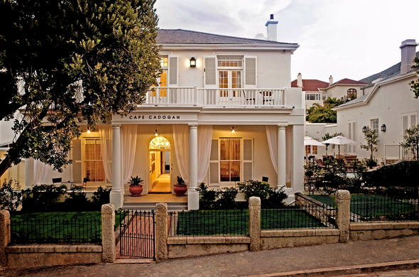 Cape Cadogan Boutique Hotel is a ideal honymoon venue.