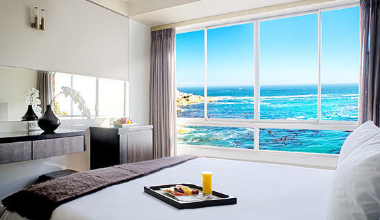 Cape Town beach hotels with sea views.