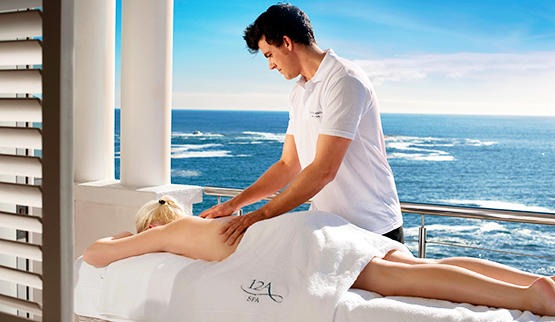 Cape Town spa hotels with sea view.