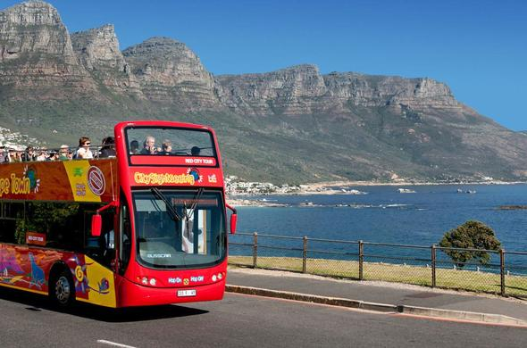 City Sightseeing Bus Cape Town.