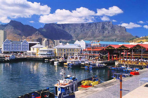 The V&A Waterfront is one of the stops on your guided Cape Town day tour.