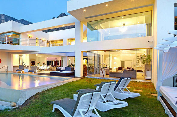 The opulent Hollywood Mansion is located in Camps Bay.