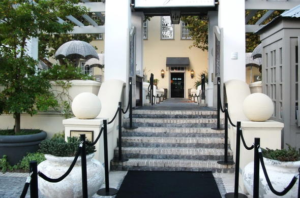 Entrance To Hout Bay Manor