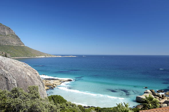 Llandudno Beach in Cape Town.