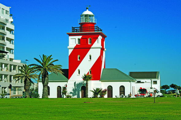 Lighthouse in Mouille Point.