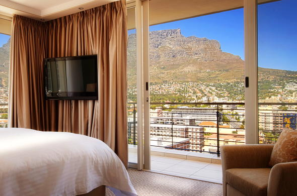 The rooms at Pepper Club Luxury Hotel & Spa enjoy lovely views.