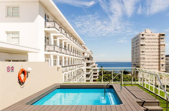 Refreshing swimming pool area at Protea Hotel Sea Point.