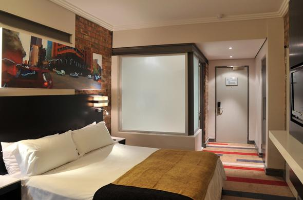 Chic Superior bedroom at Protea Hotel Victoria Junction.