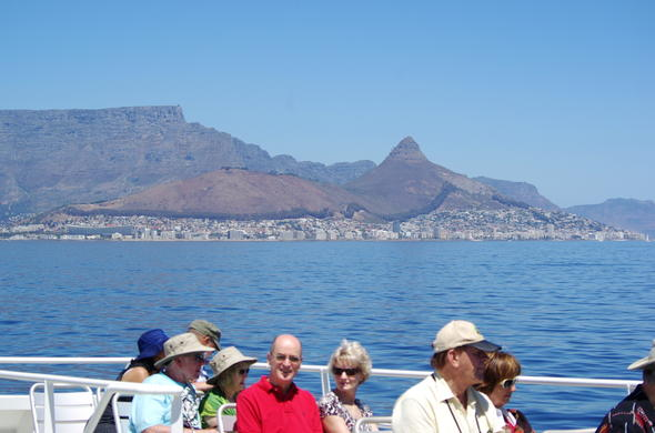 Boat trip to Robben Island.