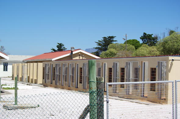 Robben Island Detention Centre.