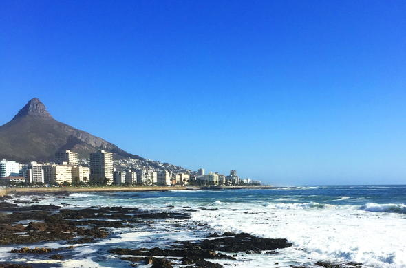 Sea Point in Cape Town.