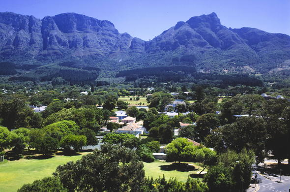 Newlands in the Cape Town Southern Suburbs.