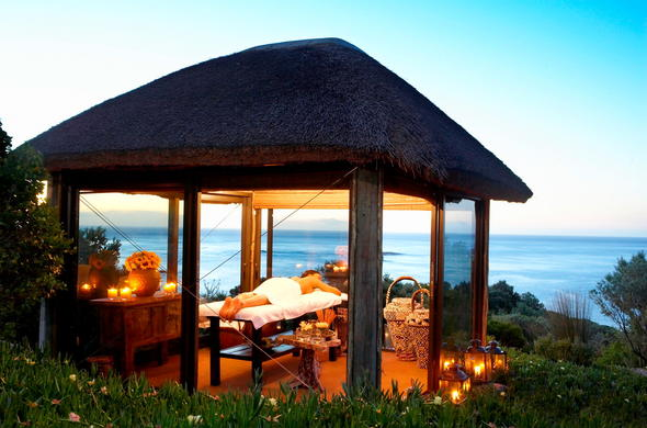 Spa Gazebo at Twelve Apostles Hotel.