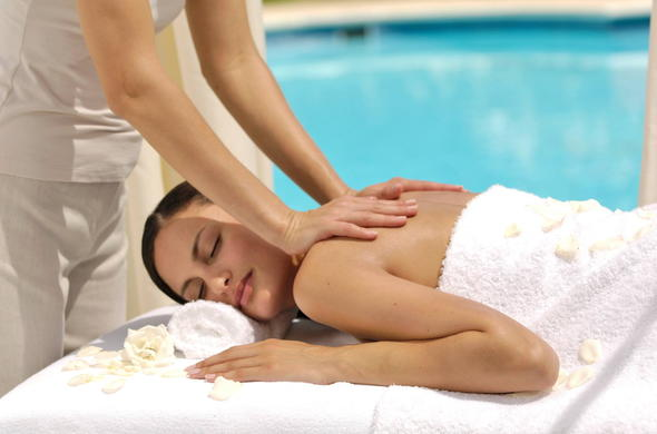 Enjoy a spa treatment at Stillness Manor.
