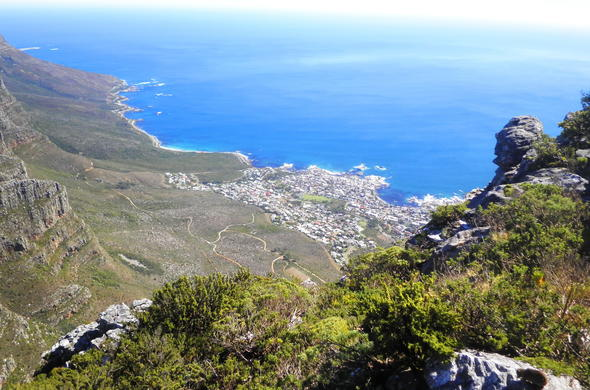 Table Mountain National Park views.