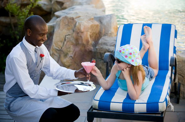 Twelve Apostles Hotel welcomes children.