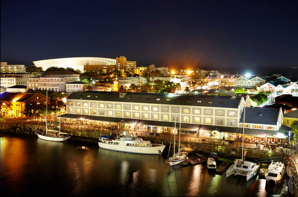 Victoria & Alfred Hotel is located on the V&A Waterfront.