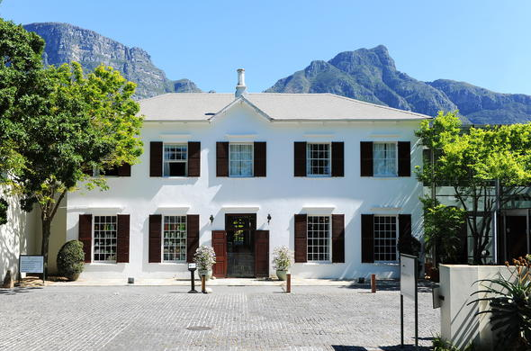 Entrance at the Vinyard Hotel in Newlands, Cape Town.