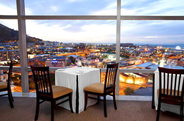 No19 Restaurant at The Westin has stunning views of Cape Town.